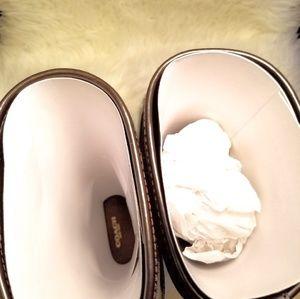 Coach Shoes - Coach Trisha II Turnlock Rain Boots